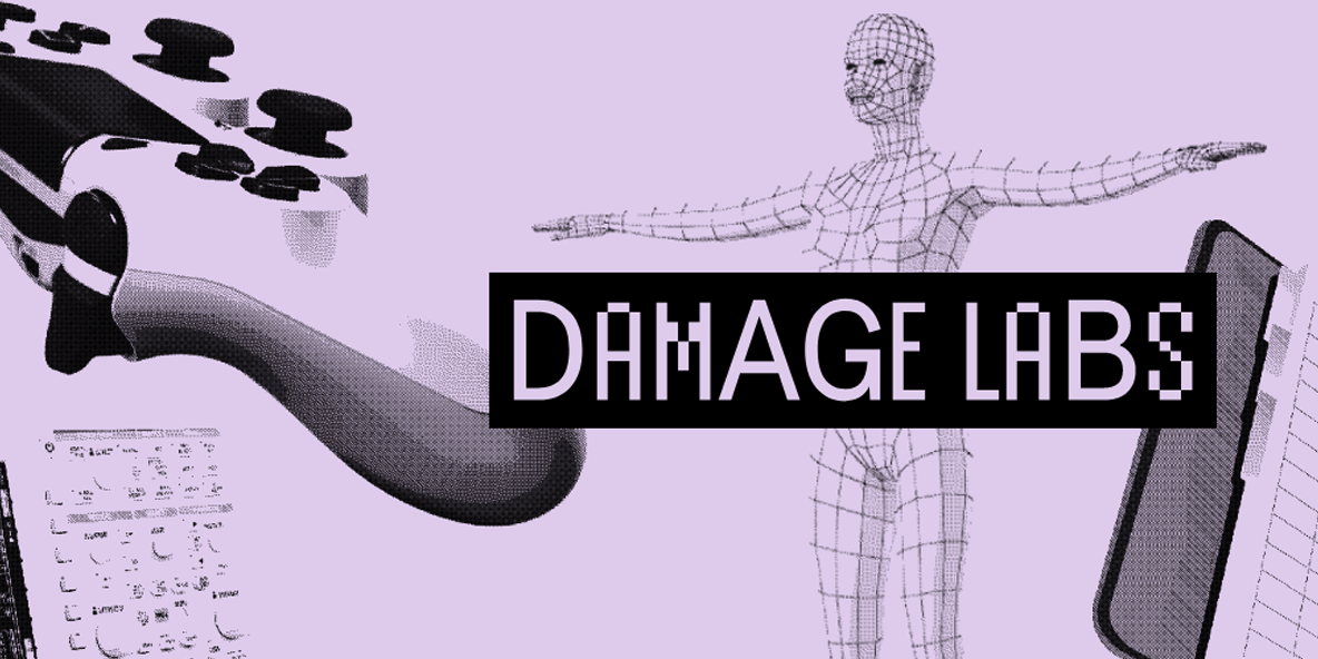 Damage Labs banner